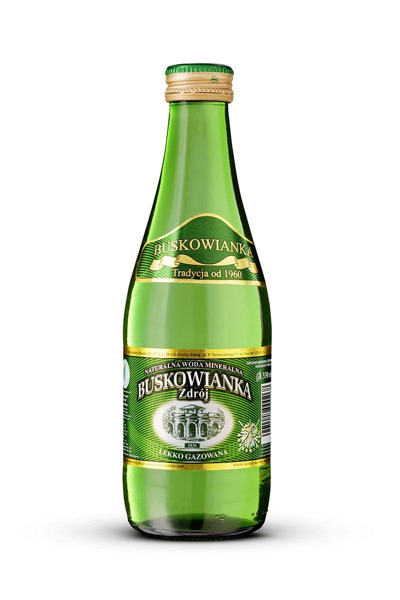 Buskowianka-Zdrój Premium lekko gazowana