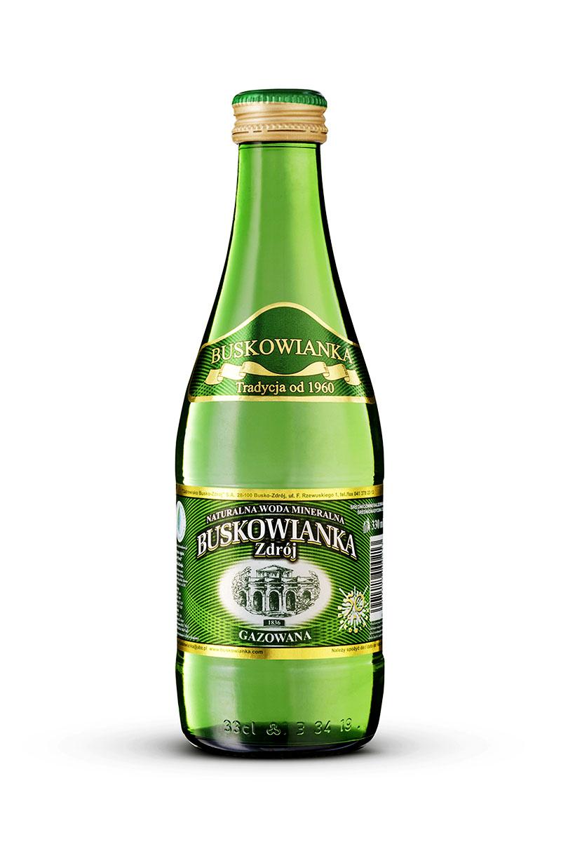 Buskowianka-Zdrój Premium gazowana