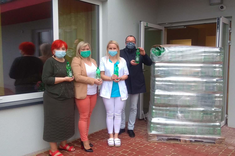 Wsparcie szpitali w czasie pandemii